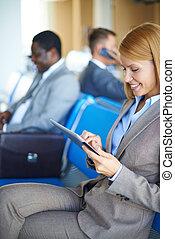 aeroporto, networking