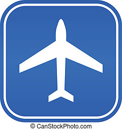 aeroporto, sinal