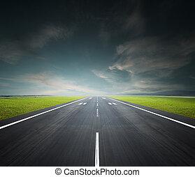 aeropuerto, pista