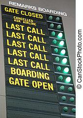 aeropuerto, relacionado