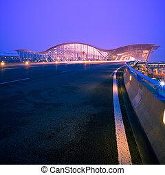 aeropuerto, shanghai
