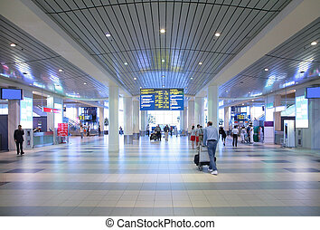 aeropuerto, vestíbulo