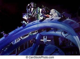 Aerospace Welder working