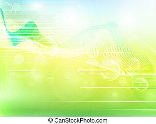 aery, abstrakt, bakgrund, med, bubblar