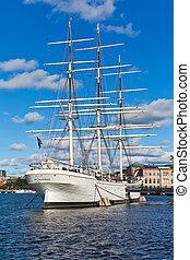 ''af, historique, chapman'', stockholm, suède, bateau