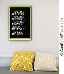 afbeelding, het motiveren, frame., inspirational, noteren