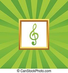 afbeelding, muziek, pictogram