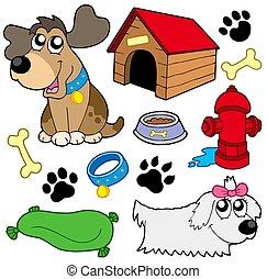 afbeeldingen, dog, verzameling