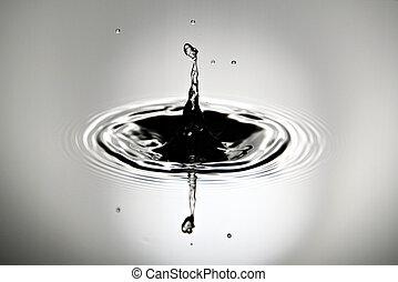 afbeeldingen, is, waterdruppels, een, mooi, vorm.