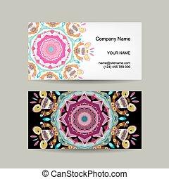 affär, design., kort, bakgrund, utsirad