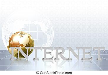 affär, internet, -, begrepp, ord