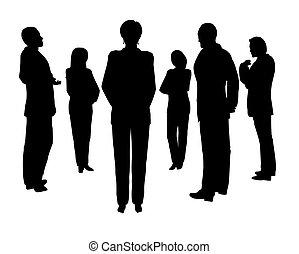 affär, konsultation, 2