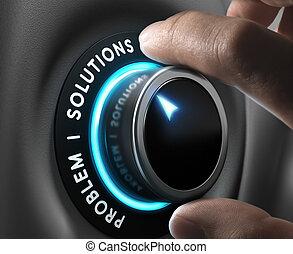 affär, lösningar