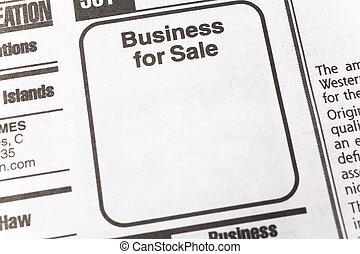 affär, till salu