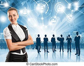 affärsman, arbetsgivare