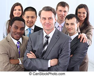 affärsman, och, sammanhållet, affärsverksamhet lag