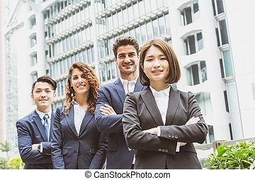affärsverksamhet folk grupp