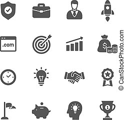 affärsverksamhet ikon