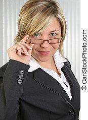 affärsverksamhet kvinna
