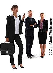 affaires-équipe