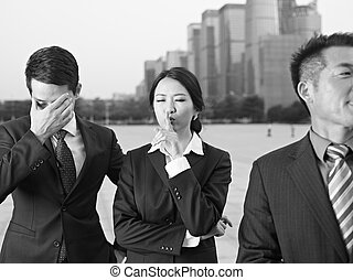affaires asiatiques, équipe