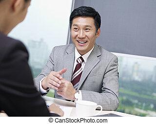 affaires asiatiques, gens