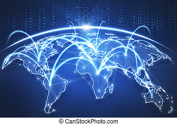 affaires globales, toile de fond