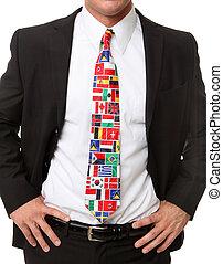 affaires internationales, homme