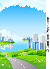 affaires ville, paysage