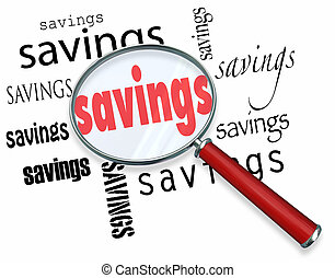 affare, ricerca, vetro, risparmi, parole, ingrandendo, meglio