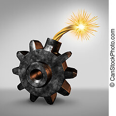 affari, bomba orologeria