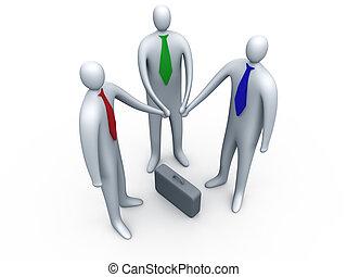 affari, collegamento, #1