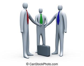 affari, collegamento, #2