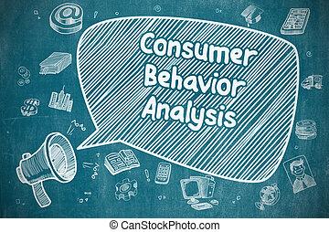 affari, concept., -, analisi, comportamento, consumatore