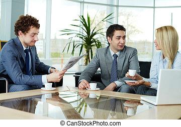 affari, conversazione