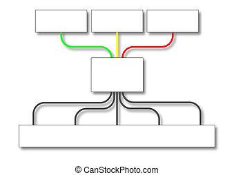 affari, diagramma flusso