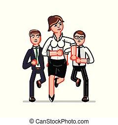 affari donna, squadra