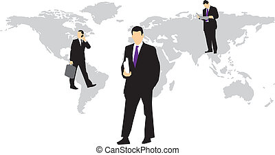 affari globali, persone