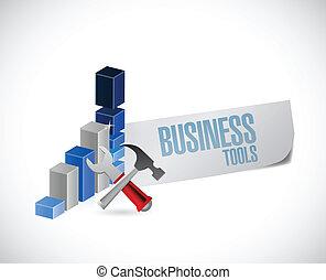 affari, grafico, attrezzo, illustrazione, segno, disegno