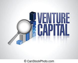 affari, grafico, illustrazione, segno, rischiarsi capitale