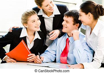 affari, gruppo