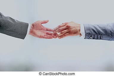 affari, handshake.