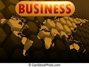 affari, mappa mondo