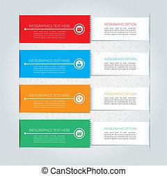 affari moderni, infographics, bandiera