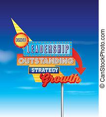 affari, og, vendemmia, sfida, messaggi, segno, crescita, retro