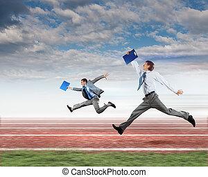 affari persone, competere