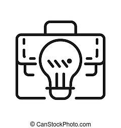 affari, vettore, idea, illustrazione