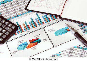 affari vita, con, finanza, stats