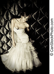 affectionate - Full length portrait of a beautiful charming ...