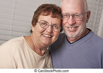 Happy Senior Couple Portrait